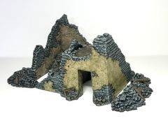 (28mm) Ready Painted Stone House Ruin