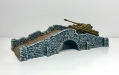 (10S007) Battle Damaged Stone Bridge