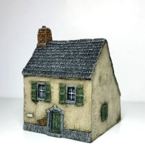 (Ready Painted) 10mm European Townhouse (#2)