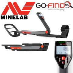 "Minelab GO-FIND 60 Metal Detector with 10"" Waterproof Search Coil"