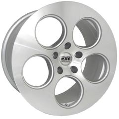 "Set of Four 18""x9"" ESM 020 Wheels - 5x100 /120 - Silver/Machined"