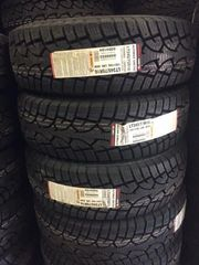 Four 225/65R17 General Altimax Arctic
