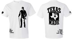 T-Shirts - Sam Houston - 100% Texas Made Est 1845