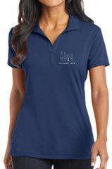 Ladies Embroidered Polo