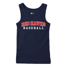 Red Hawks Baseball Girl's Tank