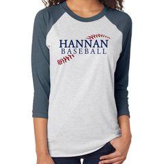 Hannan Baseball Raglan
