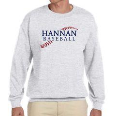 Hannan Baseball Crewneck Sweatshirt