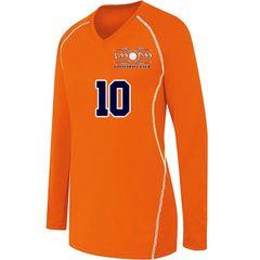 Orange Long Sleeve Jersey