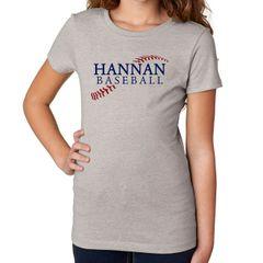 Hannan Baseball Girls Tee