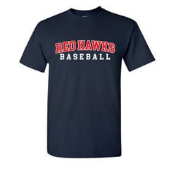 Red Hawks Baseball Basic Tshirt