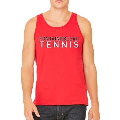 FHS Tennis Red Unisex Tank