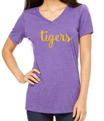 Tigers Ladies V-Neck