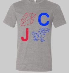 RC JH Gray Triblend Crew Unisex Super Soft