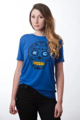 KC Sugar Unisex Super Soft Blue Crew Tee