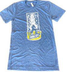 KC Carbonite A Baseball Story Unisex Super Soft Baby Blue Crew Tee