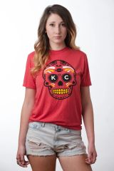 KC Sugar Unisex Super Soft Crew Tee Red