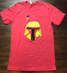KC Bounty Scout Unisex Super Soft Red Crew Tee