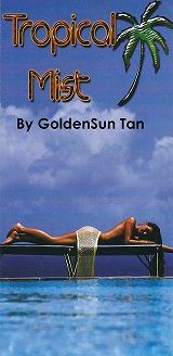 Tropical Mist Tanning by GoldenSun Tan