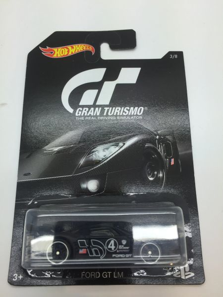 Hot Wheels Gran Turismo Ford Gt Lm Scale