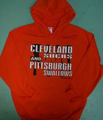 Cleveland Sucks and Pittsburgh Swallows Hoodie
