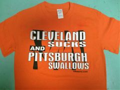 Cleveland Sucks and Pittsburgh Swallows T-shirt