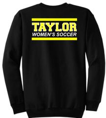 TWS Black Crewneck Fleece