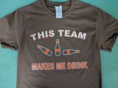 "Cleveland ""This Team Makes Me Drink"" shirt"