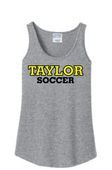 Ladies Cotton Tank Grey