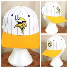 fd7b3e7b1 ... Retro Snap Back Hat.  40.00 · Vintage 90 s Team NFL Minnesota Vikings  NFL Football