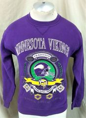 Vintage 90 s Minnesota Vikings Football Club (Med) Retro NFL Crew Neck  Sweatshirt 9958302d8