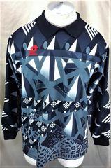Vintage Lotto Soccer Long Sleeve (Medium) Retro Pullover Graphic Goalie  Jersey 19d1ba00d