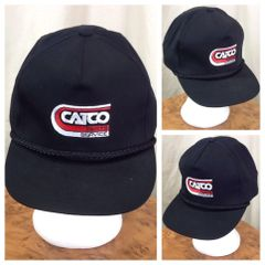 0cd555922a4 Vintage 90's Catco Parts & Service Retro Farming Style Graphic Snap Back Hat