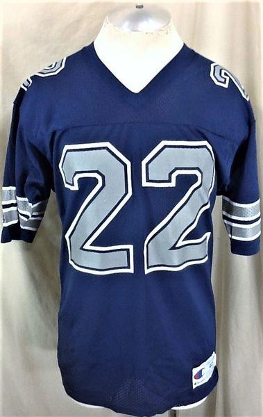 Vintage 90 s Champion Dallas Cowboys Emmitt Smith  22 (Medium) NFL Football  Jersey  b47eb542c
