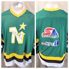 80230891e Vintage 80's Minnesota North Stars (Large) Promotional Light Weight NHL  Hockey Jersey