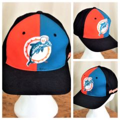 02ef8cb3f Vintage 90 s Starter Miami Dolphins NFL Football Graphic Snap Back Hat