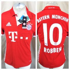 Adidas FC Bayern Munchen (Medium) Arjen Robben  10 Climacool Soccer Jersey 3df78bbd1