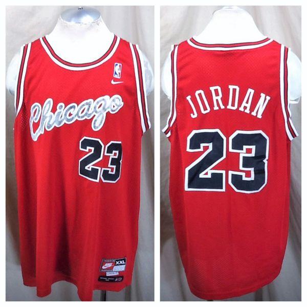 8b168f8b3a6 Vintage Nike Flight Chicago Bulls Michael Jordan #23 (2XL) Stitched NBA  Basketball Jersey | Our City Vintage