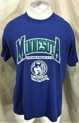 ed76daa49 Vintage 90 s Champion Minnesota Timberwolves (L XL) Retro NBA Basketball  T-Shirt
