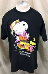f7a5099bdf Vintage 90 s Camp Snoopy Minnesota (XL) Retro Mall of America Graphic  T-Shirt