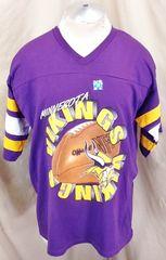 Vintage 90 s Logo 7 Minnesota Vikings (XL) Retro NFL Football Graphic T- Shirt ab05512b1