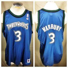 Vintage Champion Stephon Marbury  3 Minnesota Timberwolves (48 Large) Retro  NBA Basketball 4e45e36c5