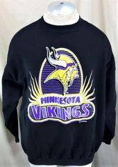 7253fb2d1 Vintage 1996 Minnesota Vikings Football Club (XL) Retro NFL Crew Neck  Sweatshirt