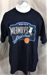 512fb5dd1 Vintage Pro Player Minnesota Timberwolves (XL) Retro NBA Basketball Graphic  Shirt