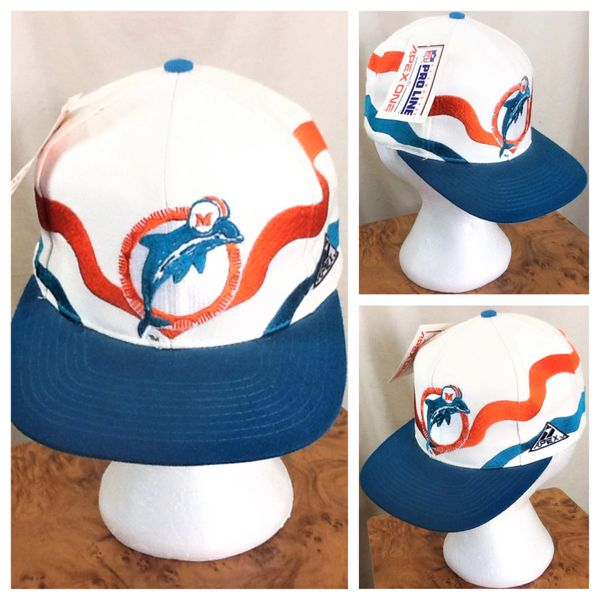 51684e43 get apex one miami dolphins pro line retro graphic nfl football snap back  hat d9c00 578c7