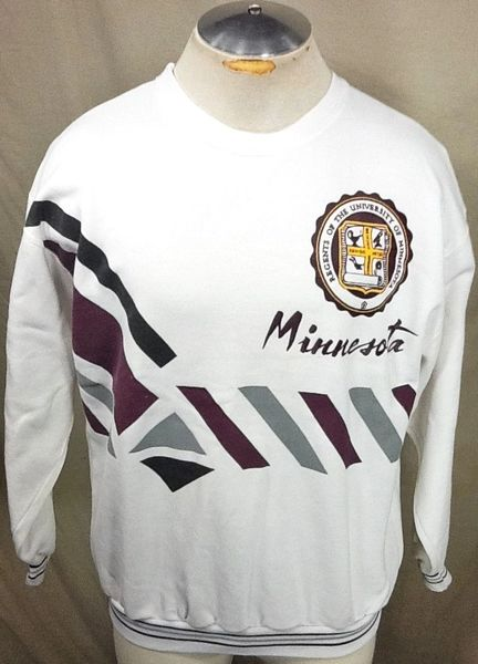 Vintage Minnesota Gophers Alternative Medium Ncaa Retro Graphic