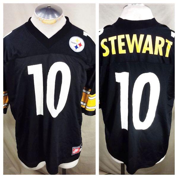 c12f509d496 Nike Pittsburgh Steelers Kordell Stewart  10 (Large) NFL Football Jersey
