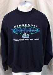 f5853b12f Vintage 00 s Minnesota Timberwolves (XL) Retro NBA Basketball Crew Neck  Sweatshirt