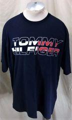 b4b043df Vintage 90's Tommy Hilfiger Hip-Hop Streetwear (XL) Retro Graphic T-Shirt