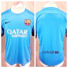 Authentic Nike Barcelona Futbol Club (Medium) Dri-Fit Pullover Soccer Jersey  Blue 6be7c0feb