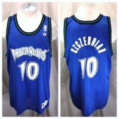 f52afe091 ... purchase vintage champion minnesota timberwolves xl 48 wally szczerbiak  10 nba basketball jersey 6080d f7493 ...